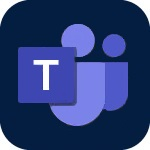 Icon for Microsoft Teams that when clicked will open the page for Microsoft Teams
