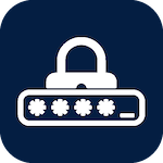 Icon for lock and password that when clicked will open the page for NetID & password