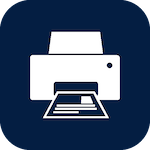 Icon for printing that when clicked will open the page for printing