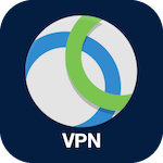 Icon for Cisco VPN that when clicked will open the page for Cisco VPN