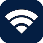 Icon for Wi-Fi that when clicked will open the page for Wi-Fi