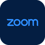 Icon for Zoom that when clicked will open the page for Zoom